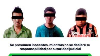 Photo of Asegura SSPH a 3 hombres por presunto robo en Huejutla