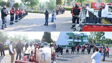 Photo of Fortalecen a Protección Civil y Bomberos de Tula con entrega de equipo