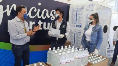 Photo of Comunidad UPT dona equipo e insumos médicos por COVID-19
