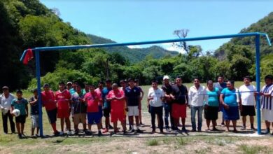 Photo of Inauguran Campo Deportivo en Amolo Xochiatipan