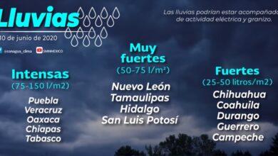 Photo of Para hoy, se pronostica lluvias fuertes para zonas de Hidalgo
