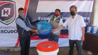 Photo of Conagua entrega materiales para la desinfección del agua que se abastece en Hidalgo