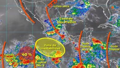 Photo of La Conagua prevé hoy lluvias fuertes en localidades de Hidalgo