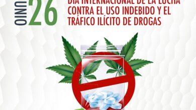 Photo of Día Internacional de la Lucha contra el Uso Indebido y el Tráfico Ilícito de Drogas, 26 de junio