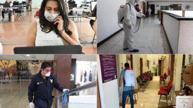 Photo of Actividades esenciales gubernamentales bajo medidas estrictas de seguridad