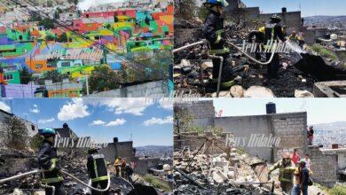 Photo of Arde humilde vivienda en Cubitos