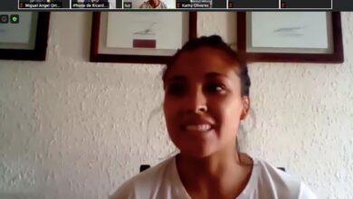 Photo of Judoka hidalguense Luz Olvera platica en sesión virtual las «Vivencias de una campeona»