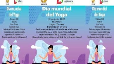 Photo of Inhide invita a celebrar el Día Mundial del Yoga con una clase virtual desde casa