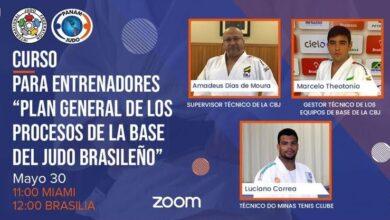 Photo of AHJ participó en el segundo curso de la Confederación Panamericana de Judo