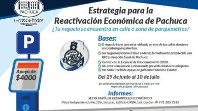 Photo of Busca ayuntamiento de Pachuca reactivar economía