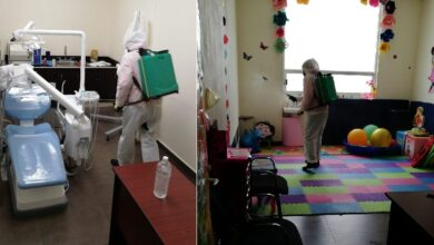 Photo of Alcaldía de Pachuca realiza trabajos de sanitización en centros de salud