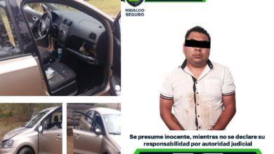 Photo of Tras persecución, asegura SSPH a hombre por robo a joyería en Cuautepec