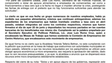 Photo of Comerciantes del centro de Pachuca afirman que si recibieron apoyos