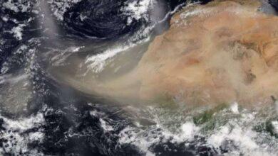 Photo of Nube de polvo del Sahara pasará sobre la Península de Yucatán y la vertiente del Golfo de México