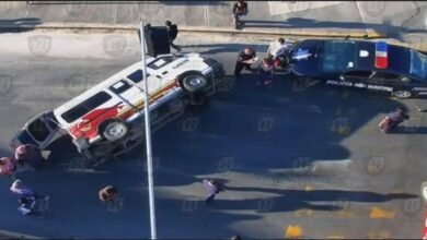 Photo of Inspectores del STCH atienden en bulevar Nuevo Hidalgo volcadura de urvan