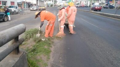 Photo of Sopot realiza trabajos de limpieza en puente La Morena en Tulancingo
