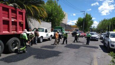 Photo of Sopot realiza trabajos de bacheo en Pachuca