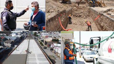 Photo of Con medidas sanitarias Sopot continúa con la obra pública, durante la pandemia