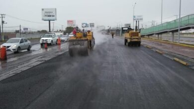 Photo of Sopot realiza trabajos de reencarpetamiento en carretera federal México -Pachuca