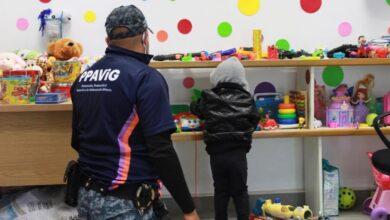 Photo of Brinda Policía de Género de la SSPH asistencia a niño extraviado