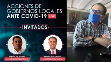 Photo of Alcalde FPR participó en platica virtual sobre acciones de gobierno locales ante Covid-19