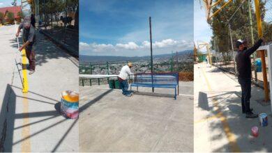 Photo of Mantenimiento Urbano inició remozamiento del Parque Nicolás Bravo en Tulancingo
