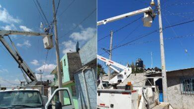 Photo of Mantenimiento Urbano en Tulancingo atiende alumbrado público en más de 40 colonias