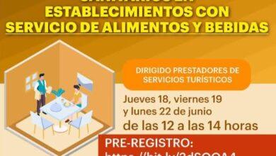 Photo of Jornada en linea de capacitación y prevención sanitaria para prestadores de servicios turísticos