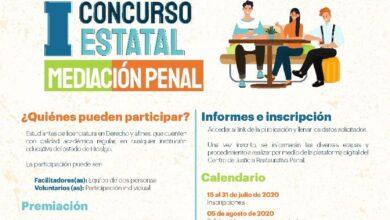 Photo of Convocan al 1er Concurso estatal de mediación penal