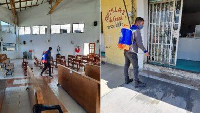 Photo of Continúan acciones de desinfección en colonias de Mineral de la Reforma
