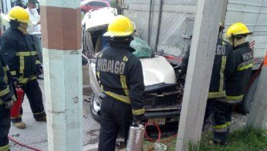 Photo of Muere hombre tras chocar camioneta contra tráiler en Hidalgo