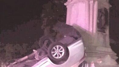 Photo of Muere hombre al chocar su auto contra monumento en Pachuca