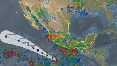 Photo of La tormenta tropical Cristina en las próximas horas ocasionará lluvias intensas en Guerrero y Oaxaca