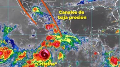 Photo of Hoy, la tormenta tropical Cristina propiciará lluvias en localidades de Hidalgo