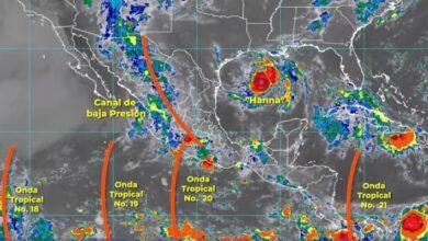 Photo of La Depresión Tropical Ocho se convirtió en la tormenta tropical Hanna