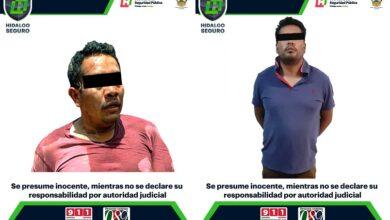 Photo of Detienen en Hidalgo a dos hombres por presuntos delitos federales