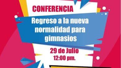 Photo of Inhide llevará a cabo la conferencia «Regreso a la nueva normalidad para gimnasios»