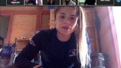 Photo of Alejandra Romero Bonilla entrena virtualmente a deportistas hidalguenses