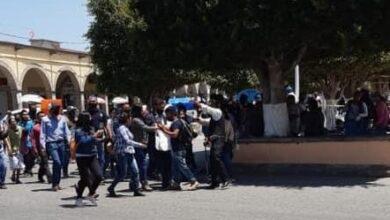Photo of Obligan a alcalde de Ixmiquilpan a caminar