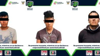 Photo of En acciones contra armas y drogas,  asegura SSPH a 3 hombres