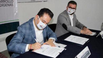 Photo of Firman convenio de colaboración para mejora del transporte público en comunidades indígenas