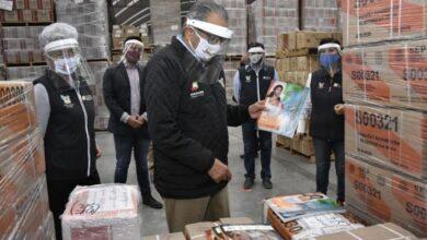 Photo of Supervisa titular de la SEPH la llegada de libros de texto a Hidalgo