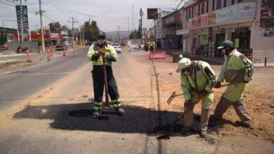 Photo of Sopot realiza trabajos de bacheo en Tulancingo