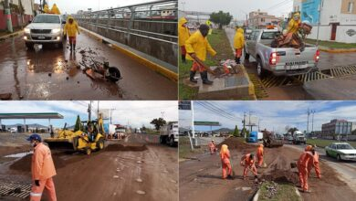 Photo of Sopot realiza limpieza por lluvias en zona Metropolitana de Pachuca