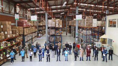 Photo of Recibe licencia sanitaria de operación el almacén central de la SSH