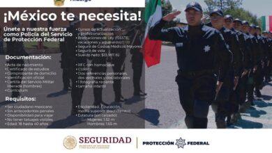 Photo of Invitan a hidalguenses a incorporarse a la Policía Federal
