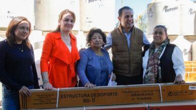 """Photo of Se suman 2 nuevos paquetes de apoyos al programa """"Creciendo Juntos"""" en Tulancingo"""