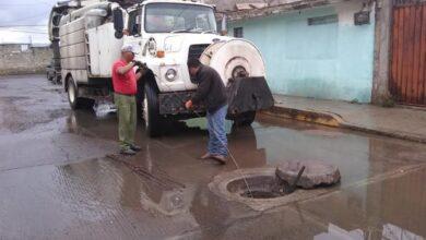 Photo of Atiende CAAMT anegamientos y taponamientos por lluvias atípicas en Tulancingo