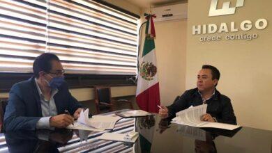 Photo of Alcalde FPR y titular de Sopot signan convenio de coordinación en materia de Desarrollo Urbano