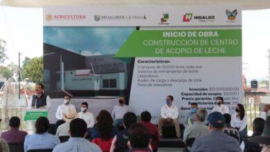 Photo of Gobernador encabezó inicio de obra de Centro de Acopio Lechero en Tulancingo